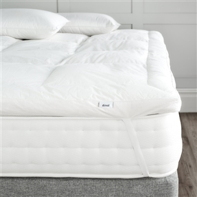 Single Duck Feather and Down Mattress Topper