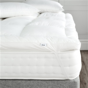 Double Dacron Comforel Mattress Topper