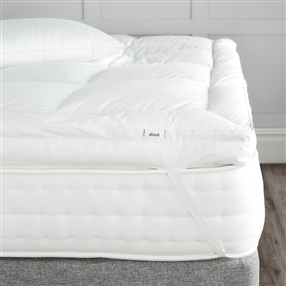 Super King Duck Down Combination Mattress Topper